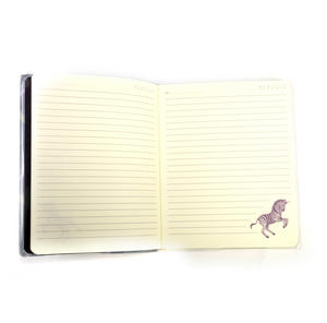 The Dark Streak - Unicorn Glitter Lined Notebook Journal by Gorjuss with Protective PVC Cover Thumbnail 3