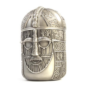 Warrior Tea Caddy - British Museum 7th Century Sutton Hoo Helmet by Royal Selangor