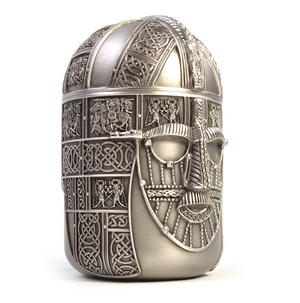 Warrior Tea Caddy - British Museum 7th Century Sutton Hoo Helmet by Royal Selangor Thumbnail 3