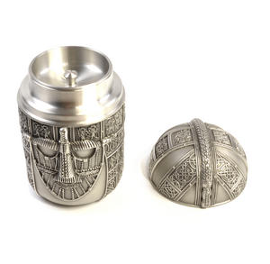 Warrior Tea Caddy - British Museum 7th Century Sutton Hoo Helmet by Royal Selangor Thumbnail 4