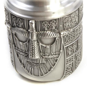 Warrior Tea Caddy - British Museum 7th Century Sutton Hoo Helmet by Royal Selangor Thumbnail 8