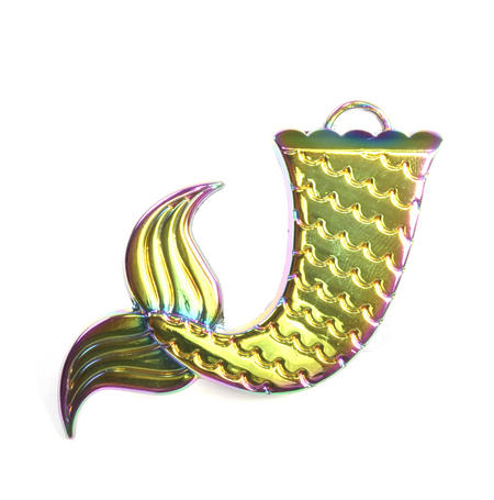 Mermaid Iridescent Keychain Bottle Opener