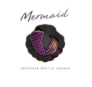 Mermaid Iridescent Keychain Bottle Opener Thumbnail 3