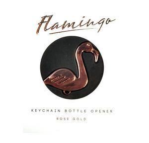 Flamingo Keychain Bottle Opener Thumbnail 2