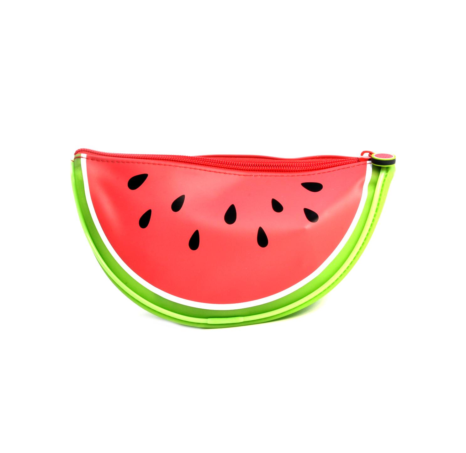 a7dfeba64042 Details about Ripe Watermelon Pencil Case / Cosmetics Bag