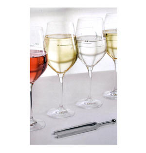 Glass of Music - Musical Wine Glass with Music Notes Thumbnail 4