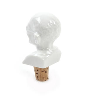 Gandhi Wine Bottle Stopper Thumbnail 3