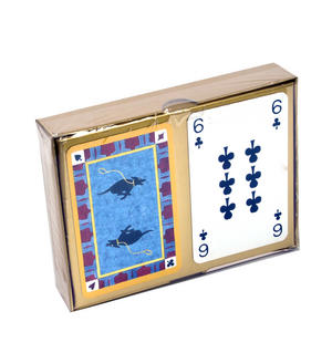 Tottering Hall Twin Pack Playing Cards Set