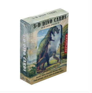 3-D Dinosaurs - Lenticular Playing Cards