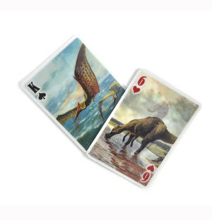3-D Dinosaurs - Lenticular Playing Cards Thumbnail 2