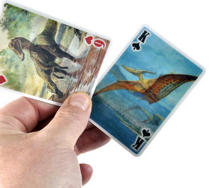 3-D Dinosaurs - Lenticular Playing Cards Thumbnail 5