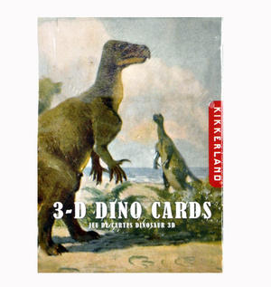 3-D Dinosaurs - Lenticular Playing Cards Thumbnail 7