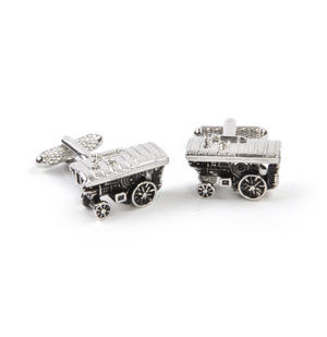 Cufflinks - Steam Traction Engine