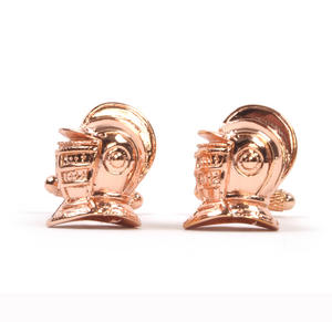 Cufflinks - Kingsguard Bascinet Armour Helmet