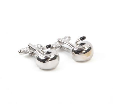 Cufflinks - Curling Stone / Curling Rock