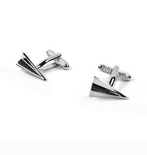 Cufflinks - Paper Plane Darts Thumbnail 3