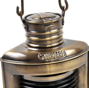 Port Navigation Paraffin Lamp, 21cm Thumbnail 2