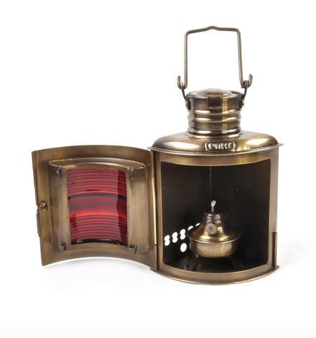 Starboard Navigation Paraffin Lamp, 21cm