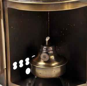 Starboard Navigation Paraffin Lamp, 21cm Thumbnail 2