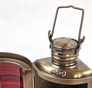 Starboard Navigation Paraffin Lamp, 21cm Thumbnail 6