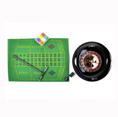 "Deluxe 10"" Roulette Set"
