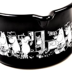 Moomin Muurla Enamel Black Jam Milk Saucepan Thumbnail 4