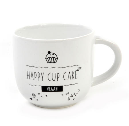 Happy Vegan Recipe Cup by Donkey