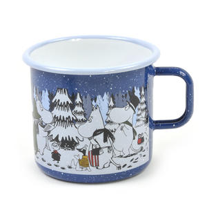 Moomin Winter Forest - Moomin Muurla Enamel Mug - 80 cl Thumbnail 1