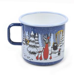 Moomin Winter Forest - Moomin Muurla Enamel Mug - 80 cl Thumbnail 2