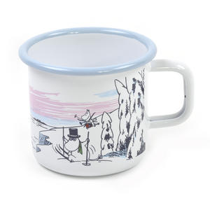 Moomin Winter Time  - Moomin Muurla Enamel Mug - 37 cl Thumbnail 2