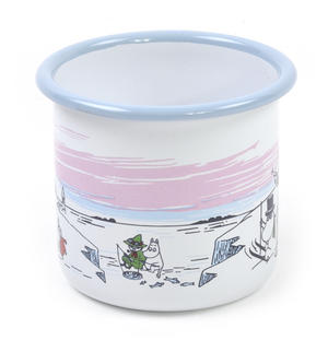 Moomin Winter Time  - Moomin Muurla Enamel Mug - 37 cl Thumbnail 3