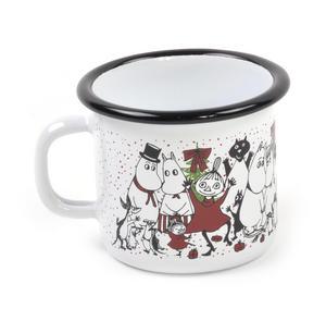 Moomin Winter Magic - Moomin Muurla Enamel Mug - 25 cl Thumbnail 1