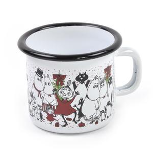 Moomin Winter Magic - Moomin Muurla Enamel Mug - 25 cl Thumbnail 2