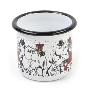 Moomin Winter Magic - Moomin Muurla Enamel Mug - 25 cl Thumbnail 3