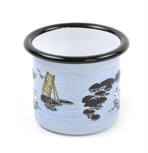 Moomin Mellow Wind Rowing Boat - Moomin Muurla Enamel Mug - 15 cl Thumbnail 3