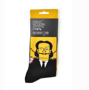Salvador Dali Socks - Great Modern Artists by Andy Tuohy Thumbnail 2