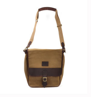 Camel Tough Canvas Cross Body Messenger Bag Thumbnail 4