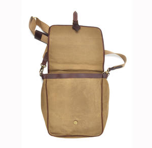 Camel Tough Canvas Cross Body Messenger Bag Thumbnail 7