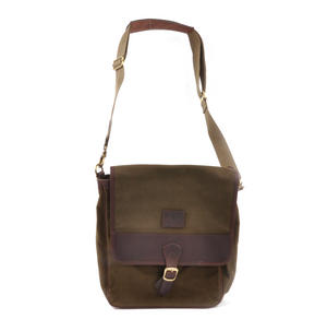Khaki Tough Canvas Cross Body Messenger Bag Thumbnail 5