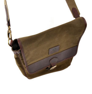 Khaki Tough Canvas Cross Body Messenger Bag Thumbnail 7