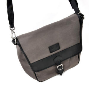 Slate Tough Canvas Cross Body Messenger Bag Thumbnail 7