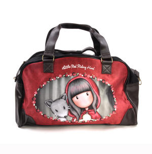 Little Red Riding Hood Weekender Carry All Bag by Gorjuss