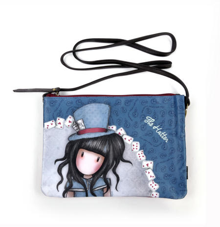 The Hatter Double Pouch Cross Body Bag