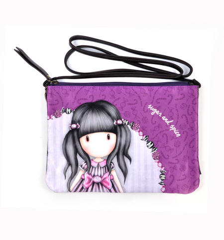 Sugar and Spice  Double Pouch Cross Body Bag