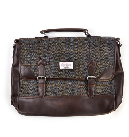 Harris Tweed Carloway Briefcase