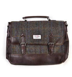 Harris Tweed Carloway Briefcase