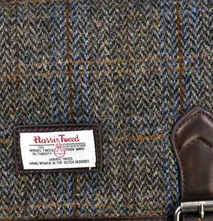 Harris Tweed Carloway Briefcase Thumbnail 3