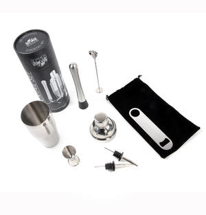 Cocktail Set - 8 Piece Stainless Steel