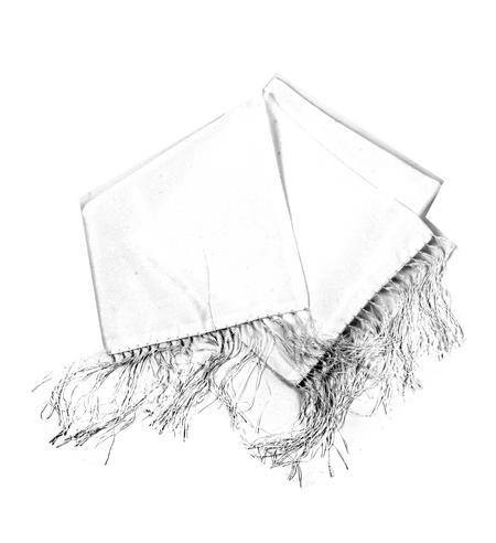 White Evening Dress Scarf