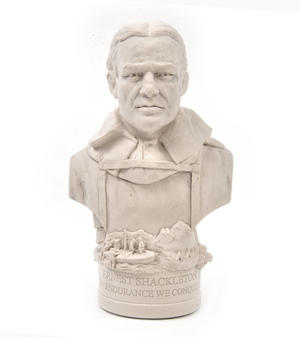 Ernest Shackleton Statuette - Famous Faces Collection Plaster Bust Thumbnail 3